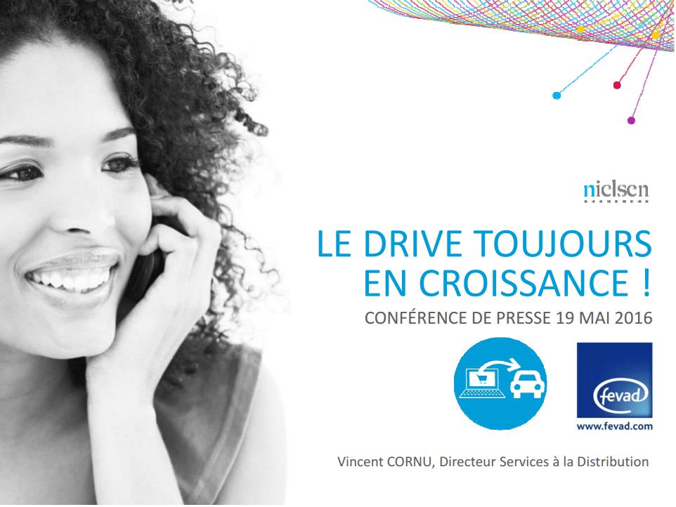 Le marché du drive 2016