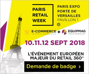 Inscription Paris retail Week